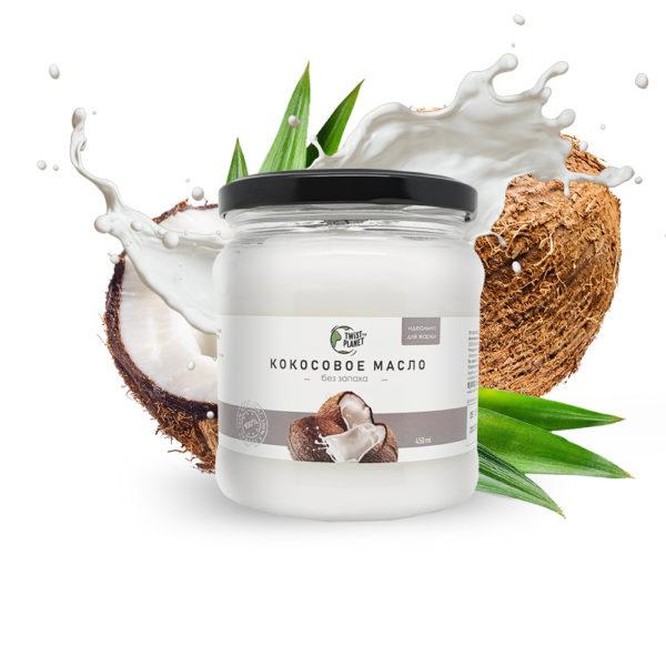 Органическое кокосовое масло для жарки (без запаха)