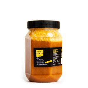 Мёд разнотравье светлое